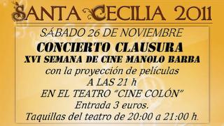 SEMANA DE CINE MANOLO BARBA - CONCIERTO