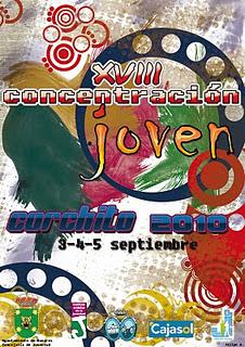 XVIII CONCENTRACIÓN JOVEN EL CORCHITO BONARES (3-4-5 SEPTIEMBRE)
